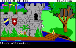 King's Quest I - Quest for the Crown (1984; Bild 1)