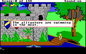 King's Quest I - Quest for the Crown (1984; Bild 2)
